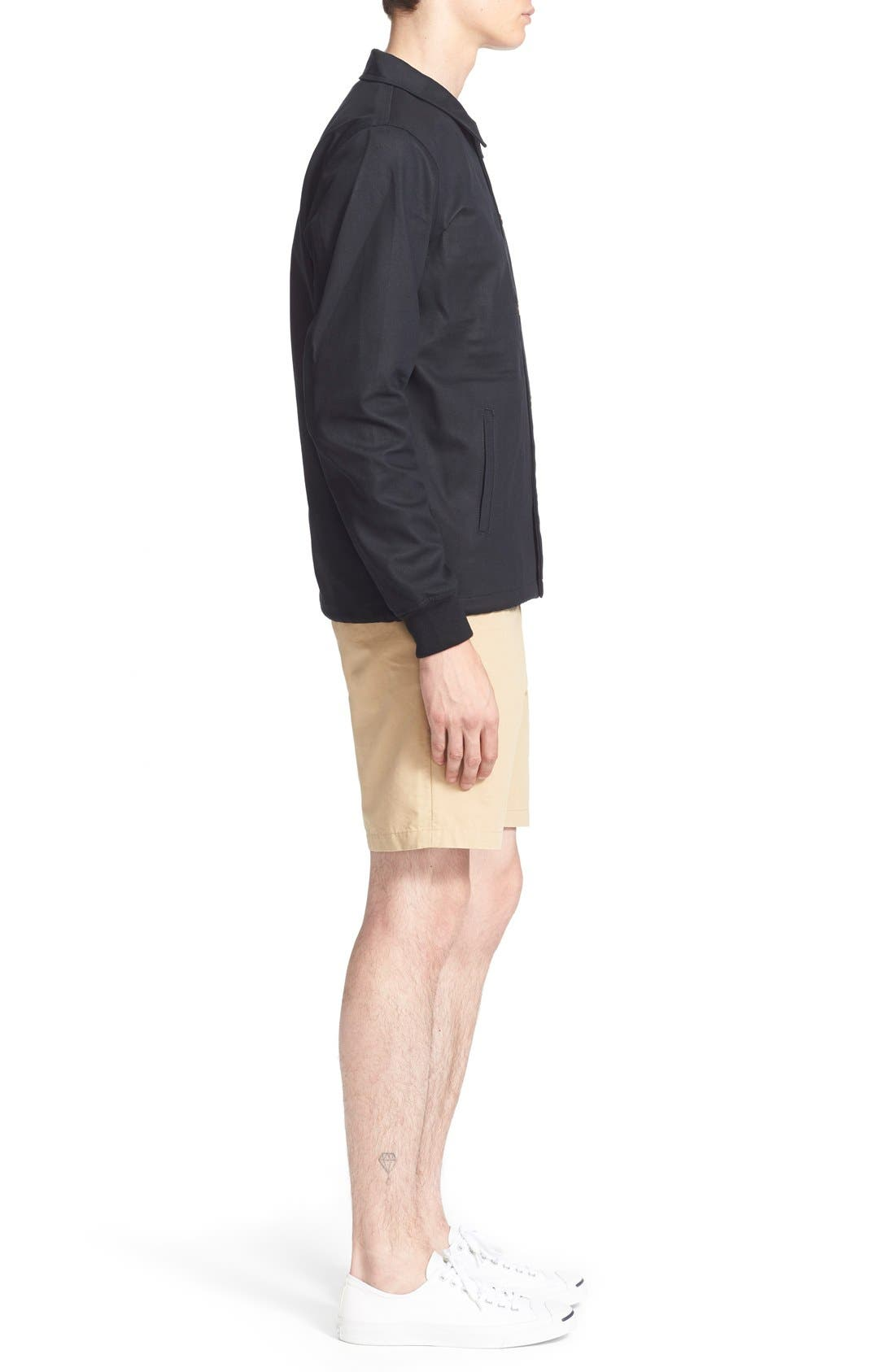 ,                             'Cooper' Bonded Cotton Poplin Jacket,                             Alternate thumbnail 2, color,                             001