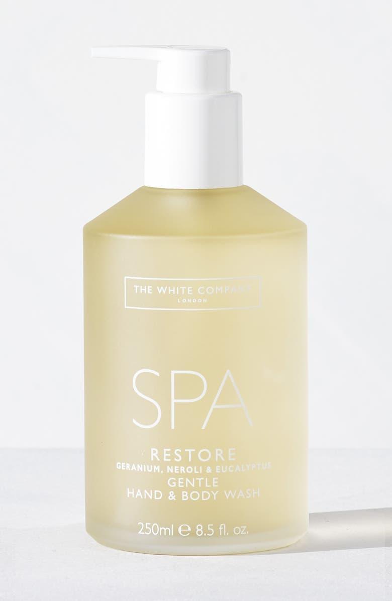THE WHITE COMPANY Spa Restore Body & Hand Wash, Main, color, 100