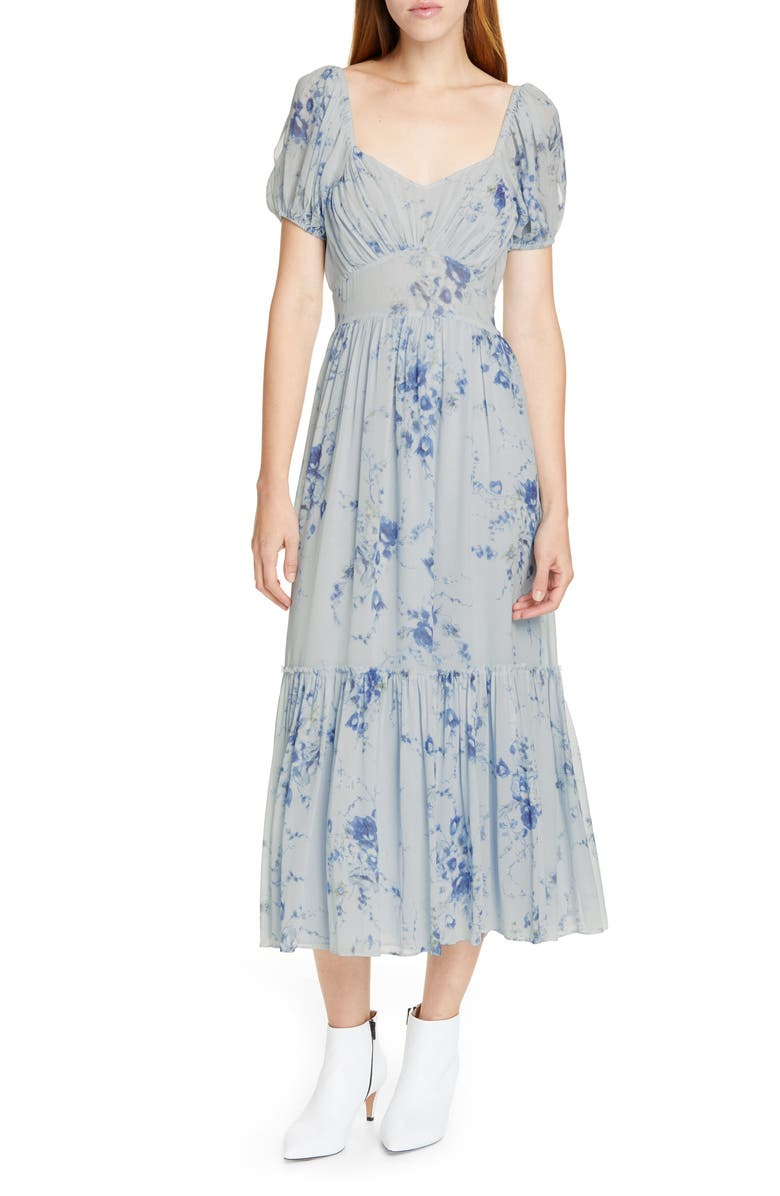 LOVESHACKFANCY Angie Floral Maxi Dress, Main, color, 457