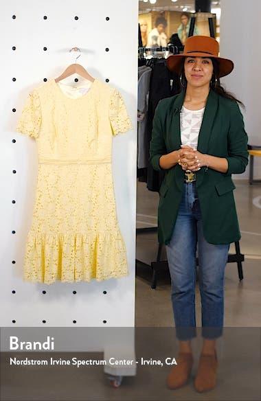 Lace Minidress, sales video thumbnail
