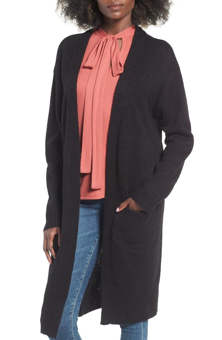 J.O.A. Oversize Cardigan, Main, color, 001