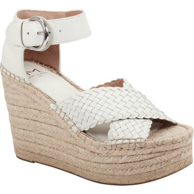 Marc Fisher Ltd Aylon Espadrille Sandal- Ivory