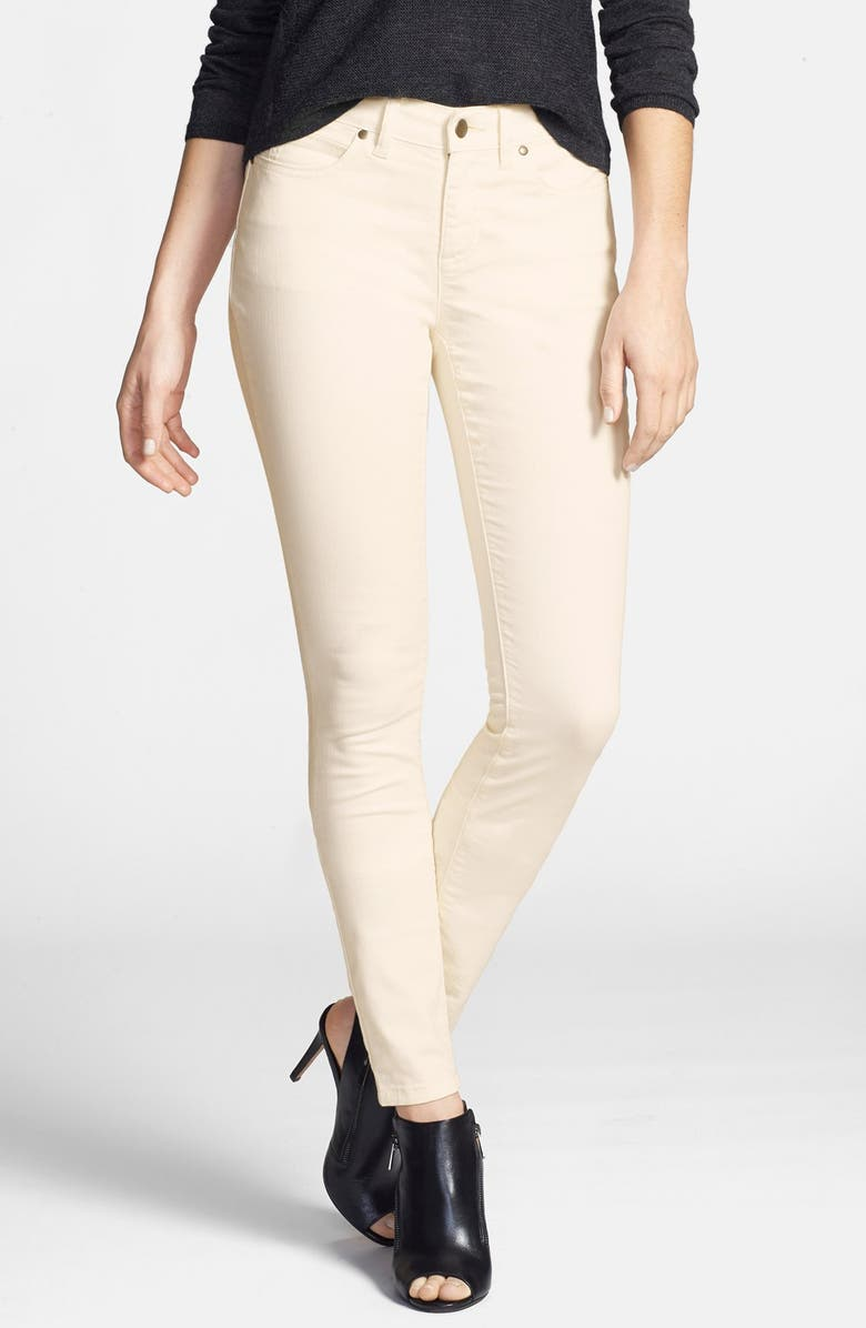 EILEEN FISHER The Fisher Project Garment Dyed Stretch Skinny Jeans, Main, color, 900