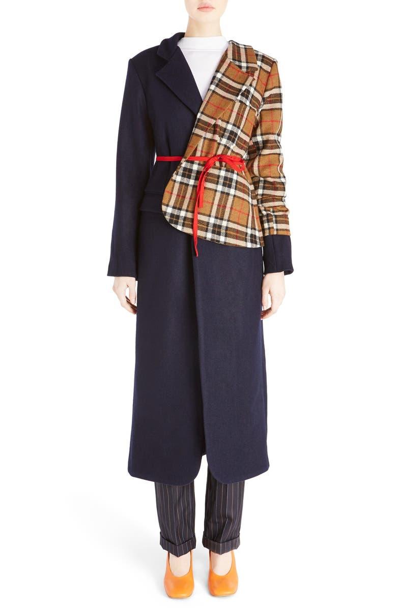 JACQUEMUS 'Le Manteau Vest' Long Wool Coat, Main, color, 411