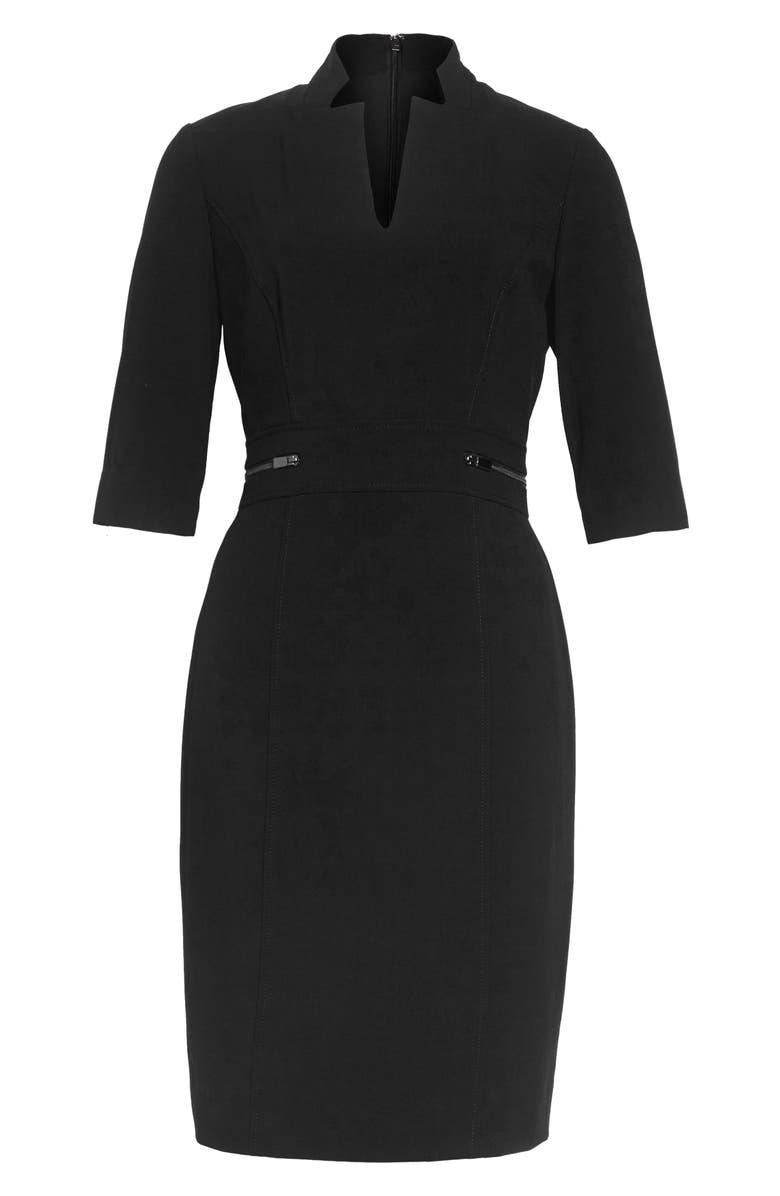 TAHARI Sheath Dress, Main, color, 011