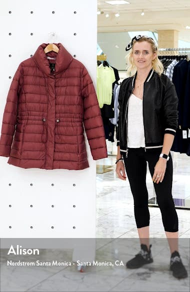 Ried Channel Quilted Puffer Jacket, sales video thumbnail