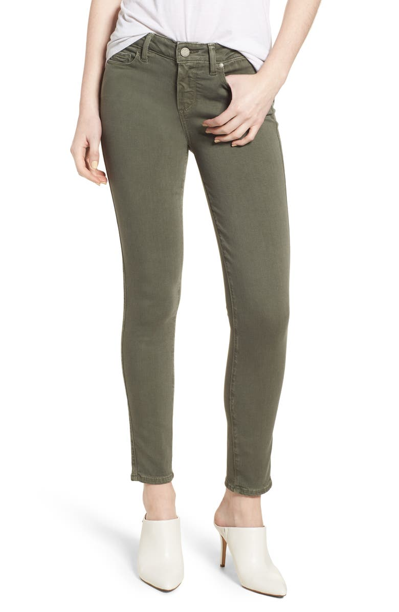 PAIGE Transcend Ankle Skinny Jeans, Main, color, 300