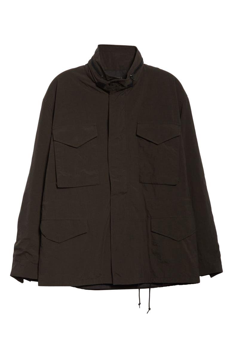 BEAMS PLUS M-65 Nylon Field Jacket, Main, color, 001