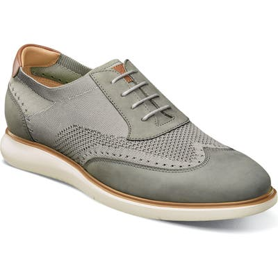 Florsheim Fuel Wingtip, Grey