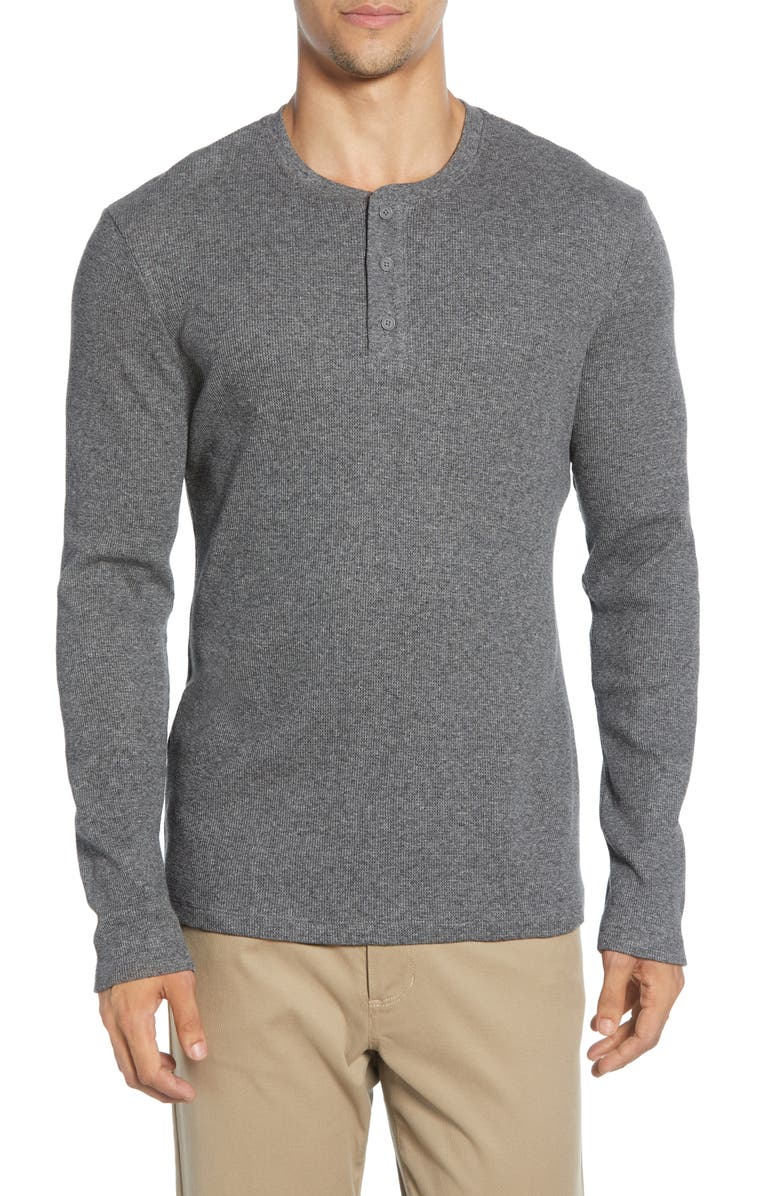 VINCE Henley, Main, color, H MED GREY