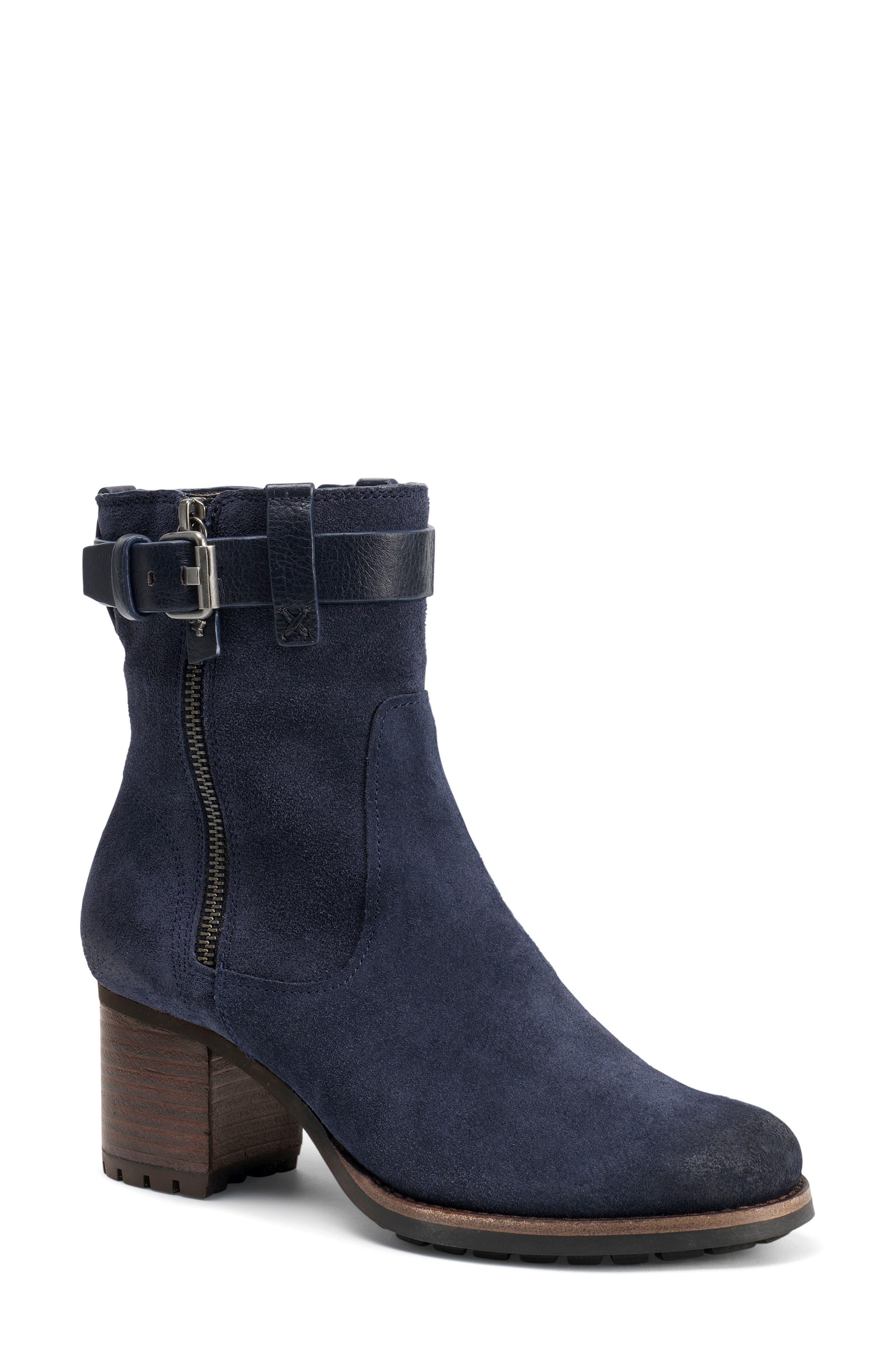 Trask Madison Waterproof Boot- Blue