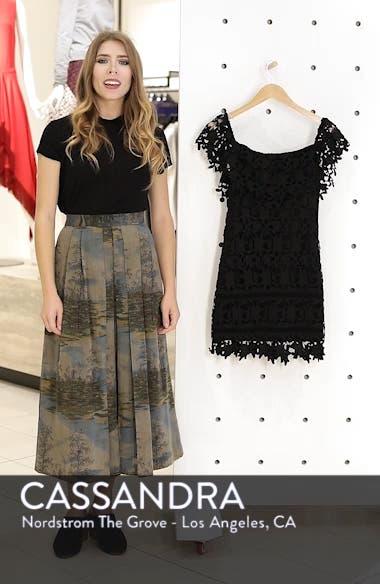 Off the Shoulder Lace Minidress, sales video thumbnail