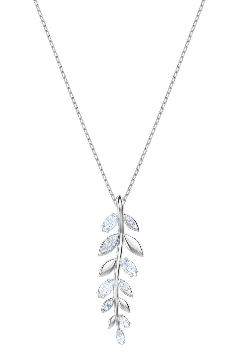 SWAROVSKI Mayfly Pendant Necklace, Main, color, 040