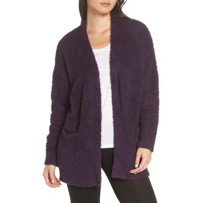 Barefoot Dreams Cozychic(TM) Cardigan, Purple