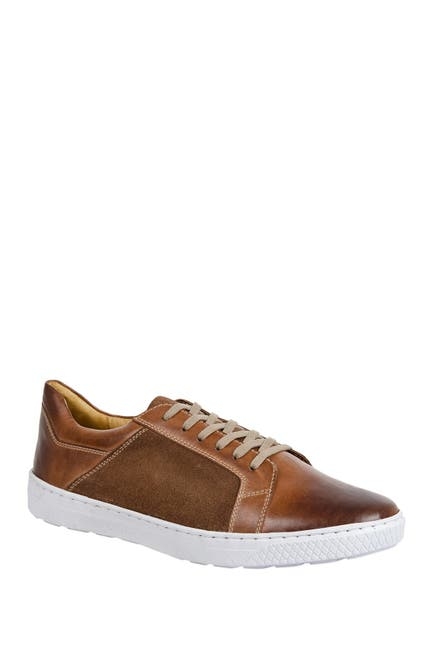 Image of Sandro Moscoloni Hondey Leather Sneaker