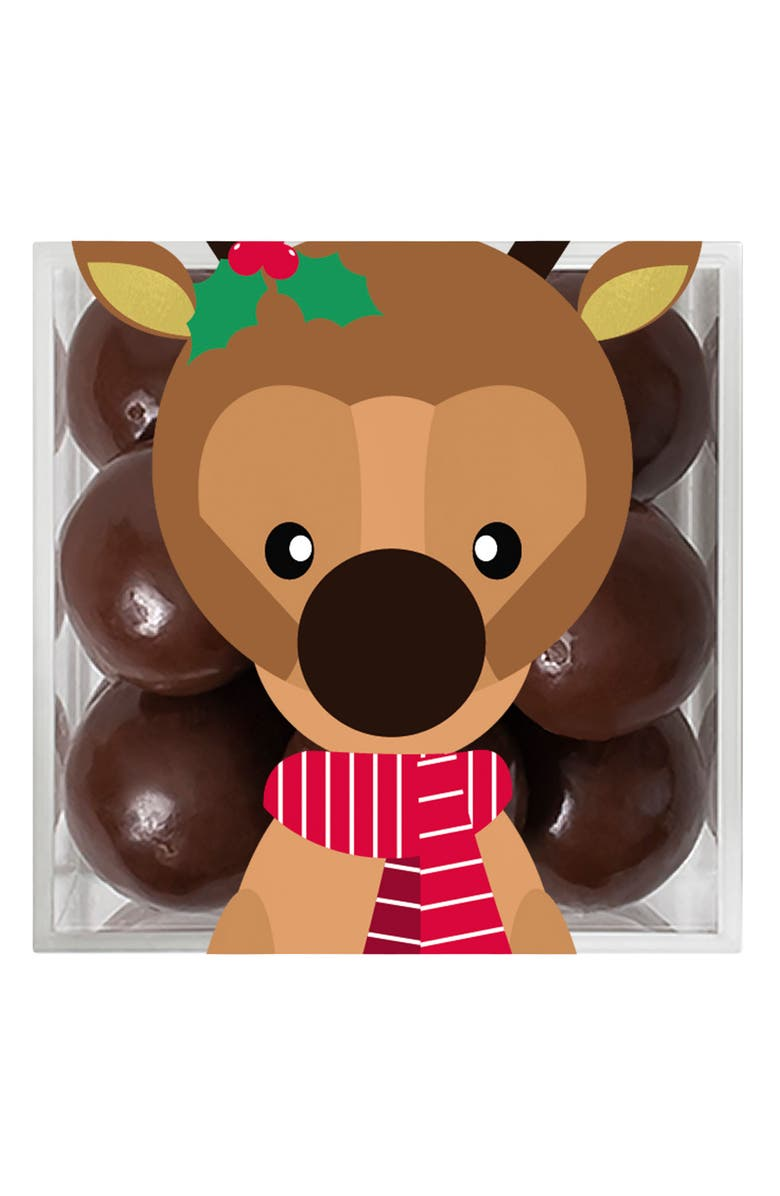 SUGARFINA Reindeer Sparkle Pop Candy, Main, color, BROWN