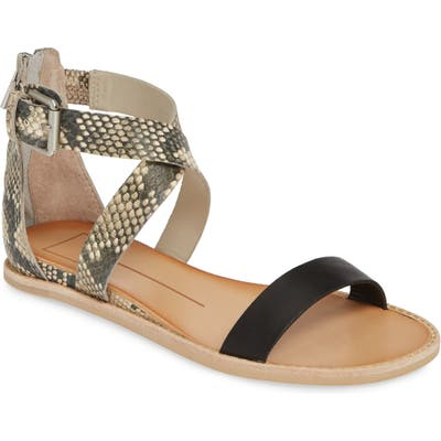 Dolce Vita Nolen One Band Sandal- Black