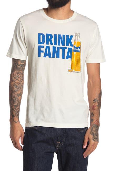 Image of American Needle Drink Fanta Graphic Crew Neck T-Shirt