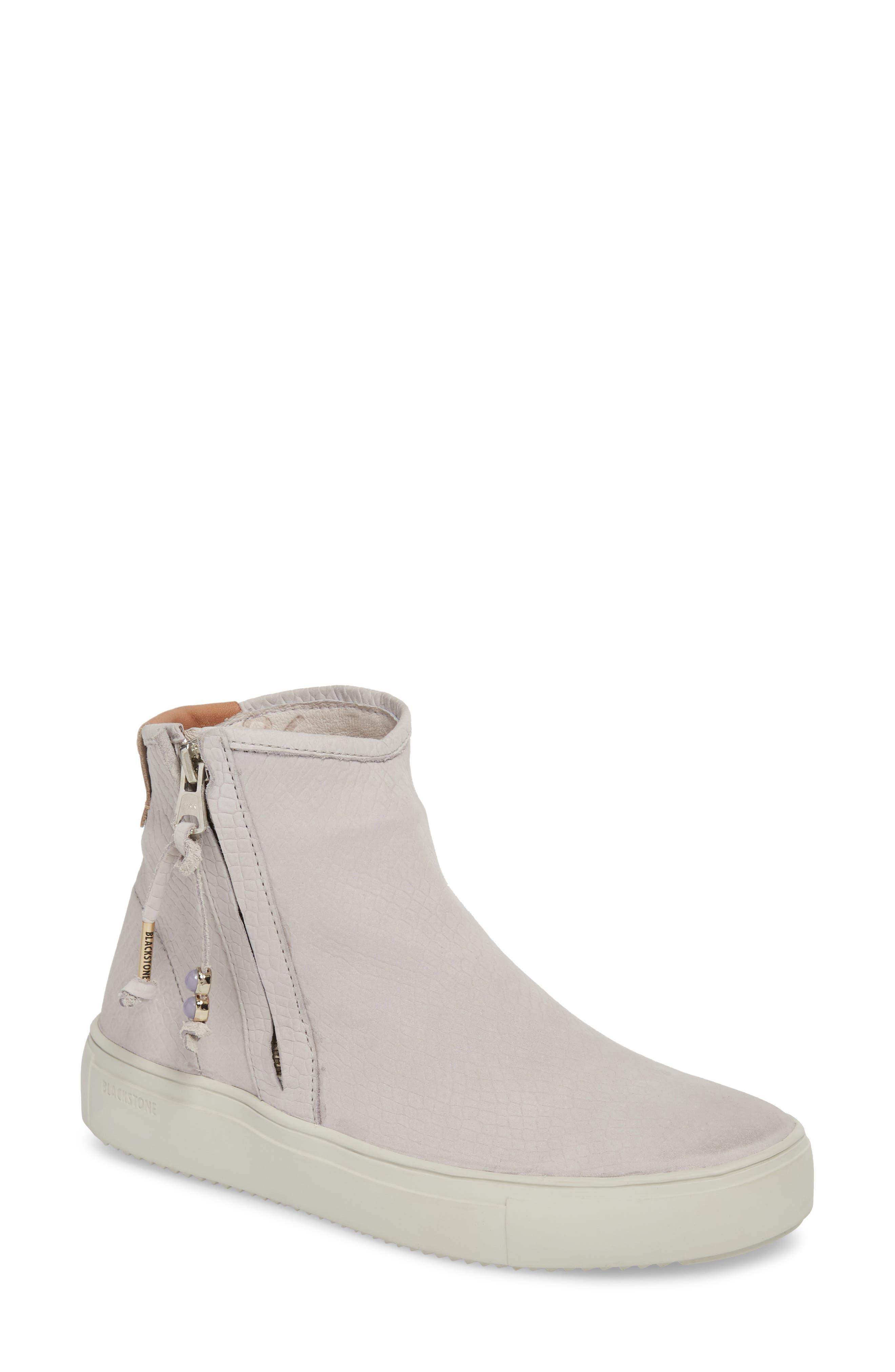 Image of Blackstone Side Zip High-Top Sneaker