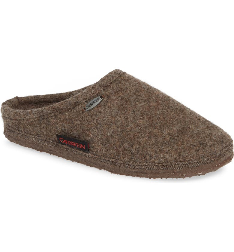Giesswein Abend Boiled Wool Slipper (Women) | Nordstrom