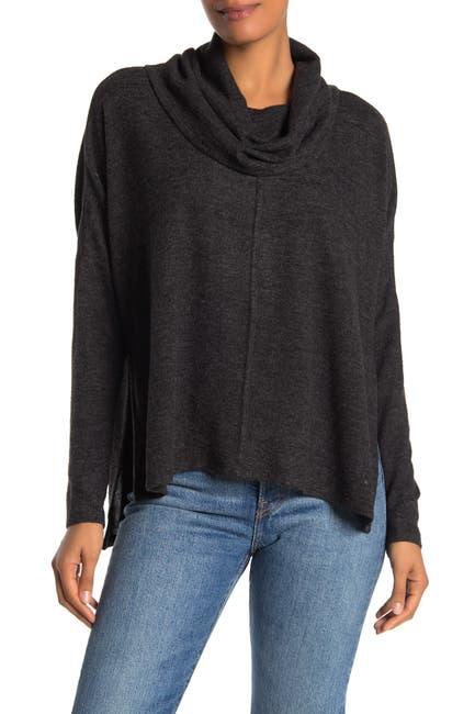 Image of Chenault Marled Oversized Cowl Neck Sweater
