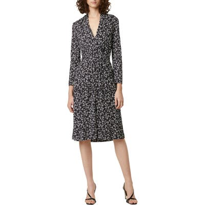 French Connection Angelina Meadow Long Sleeve Dress, Black