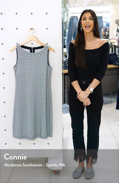 Geo Breezy Sleeveless Shift Dress, sales video thumbnail