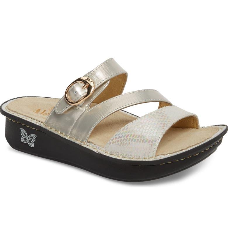 ALEGRIA 'Colette' Platform Sandal, Main, color, OPFULLY LEATHER