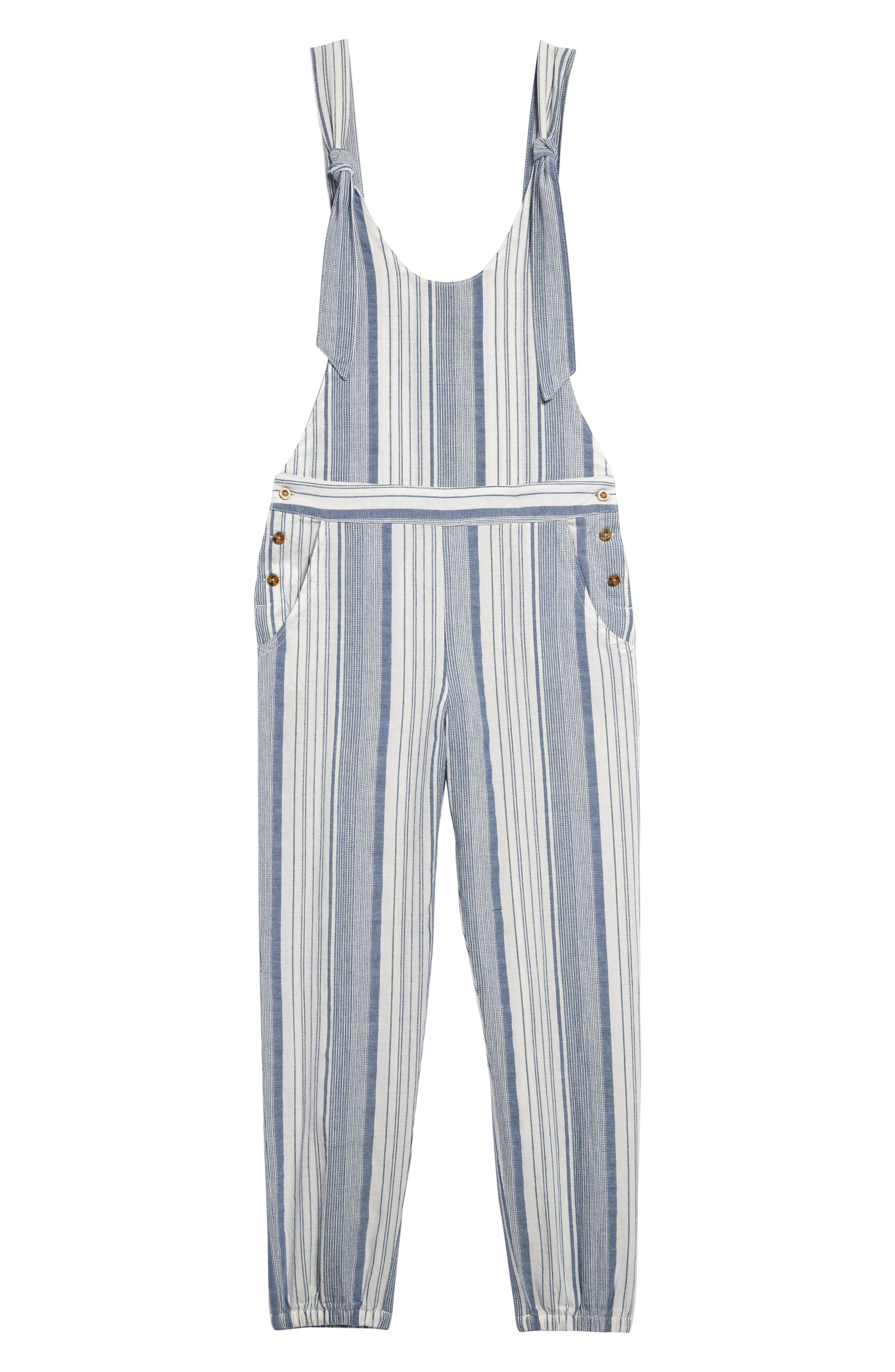 Image of Habitual Kids Striped Tie Strap Jogger Jumpsuit