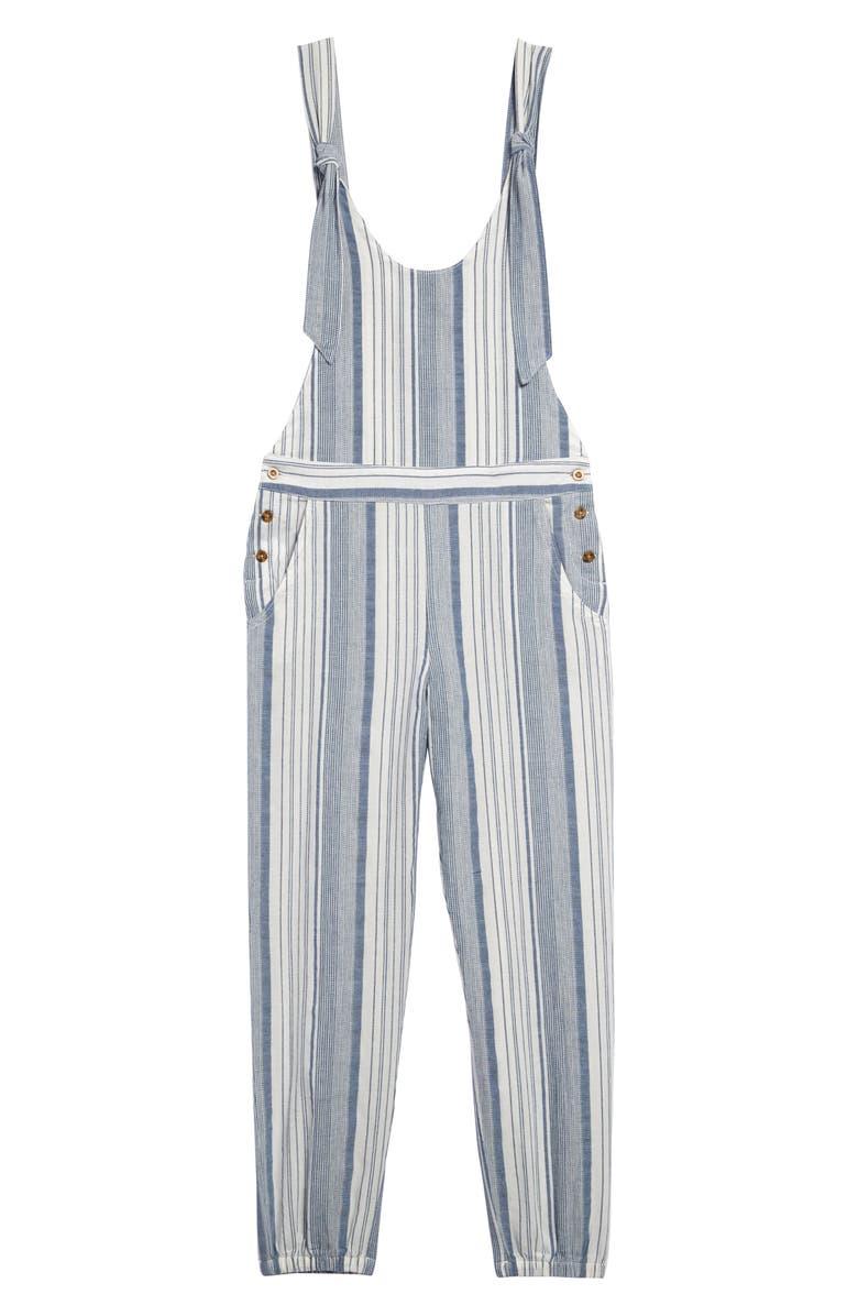 HABITUAL Stripe Jumpsuit, Main, color, MULTI
