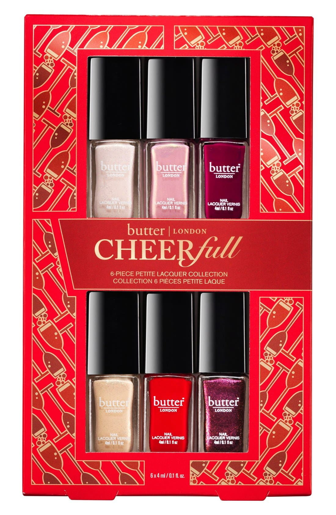 ,                             CHEERfull Petite Nail Lacquer Collection,                             Main thumbnail 1, color,                             600