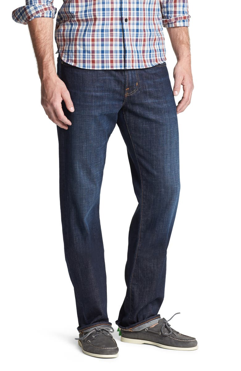 AG Protégé Straight Leg Jeans, Main, color, HUNTS WASH
