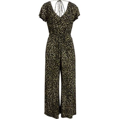 Tommy Bahama Wild One Wide Leg Jumpsuit, Black