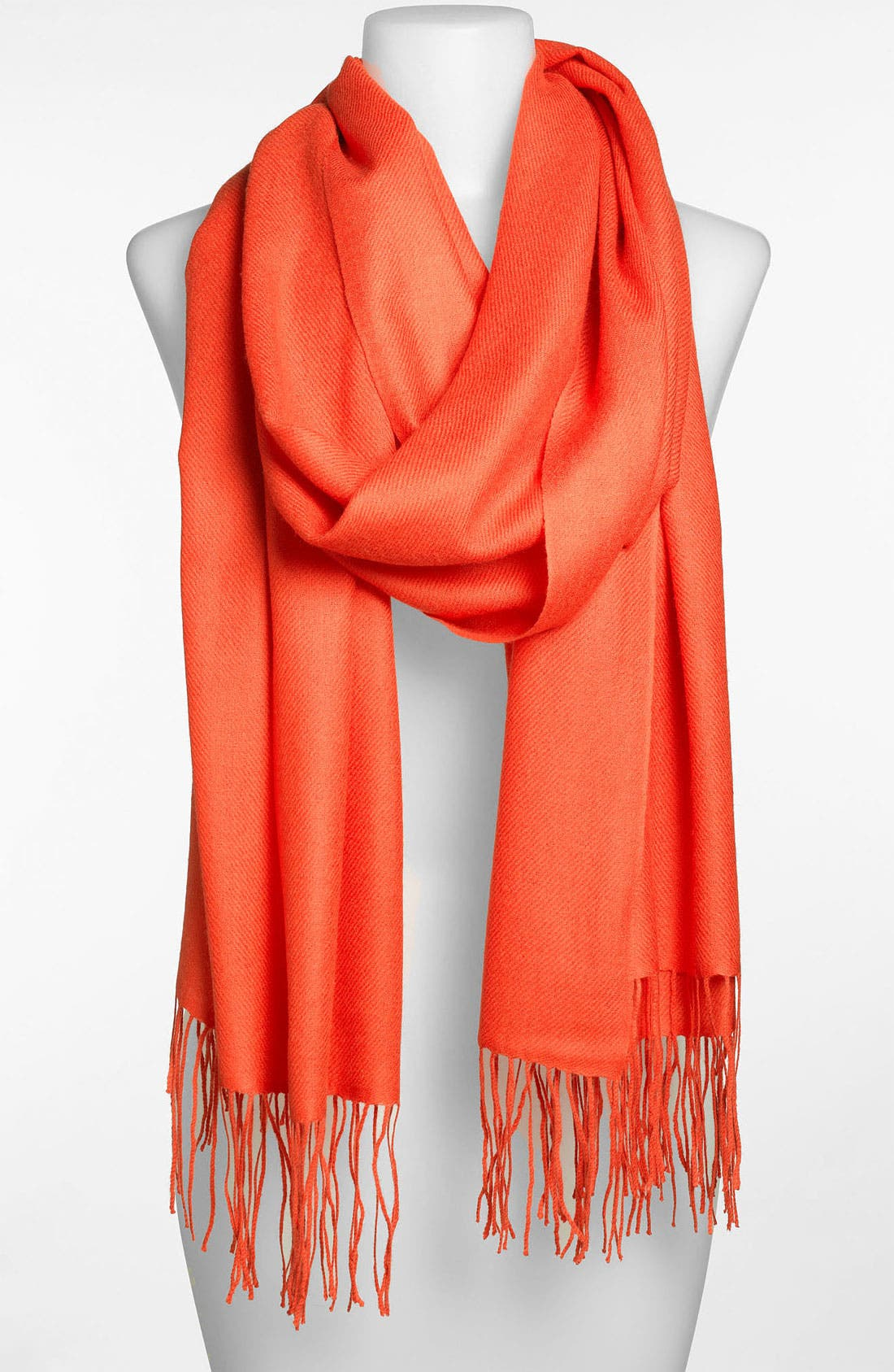,                             Tissue Weight Wool & Cashmere Wrap,                             Main thumbnail 206, color,                             802