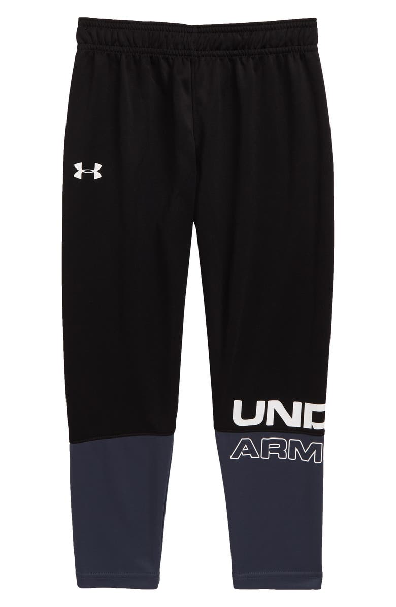UNDER ARMOUR Tyranno Pants, Main, color, BLACK
