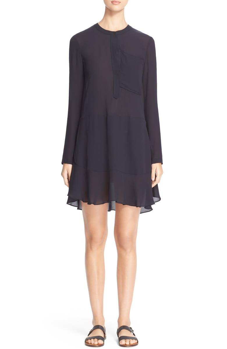 A.L.C. 'Montana' Silk Chiffon Dress, Main, color, 402