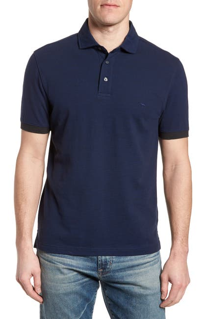 Image of RODD AND GUNN Hampstead Contrast Trim Pique Polo
