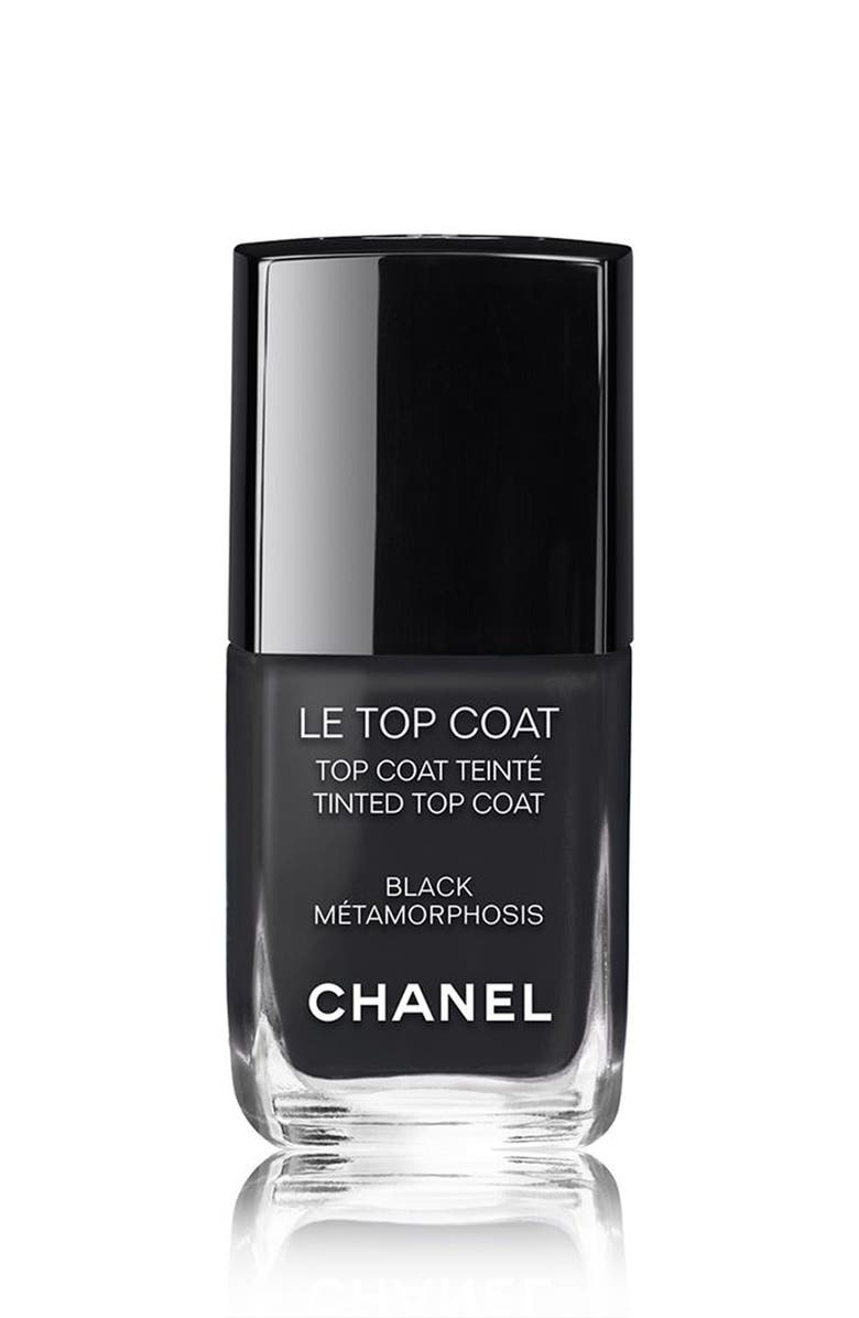 CHANEL LE TOP COAT <br />Tinted Top Coat, Main, color, 001