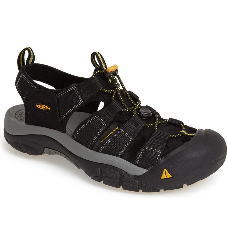 KEEN 'Newport H2' Sandal, Main, color, BLACK