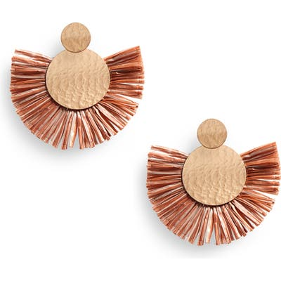 Bp. Fringe Fan Earrings