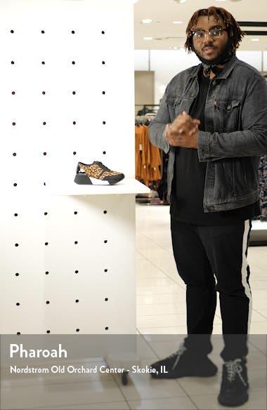 Payce Genuine Calf Hair Sneaker, sales video thumbnail