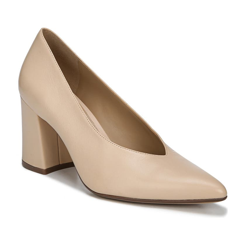 NATURALIZER Hope Pointy Toe Pump, Main, color, SOFT NUDE LEATHER