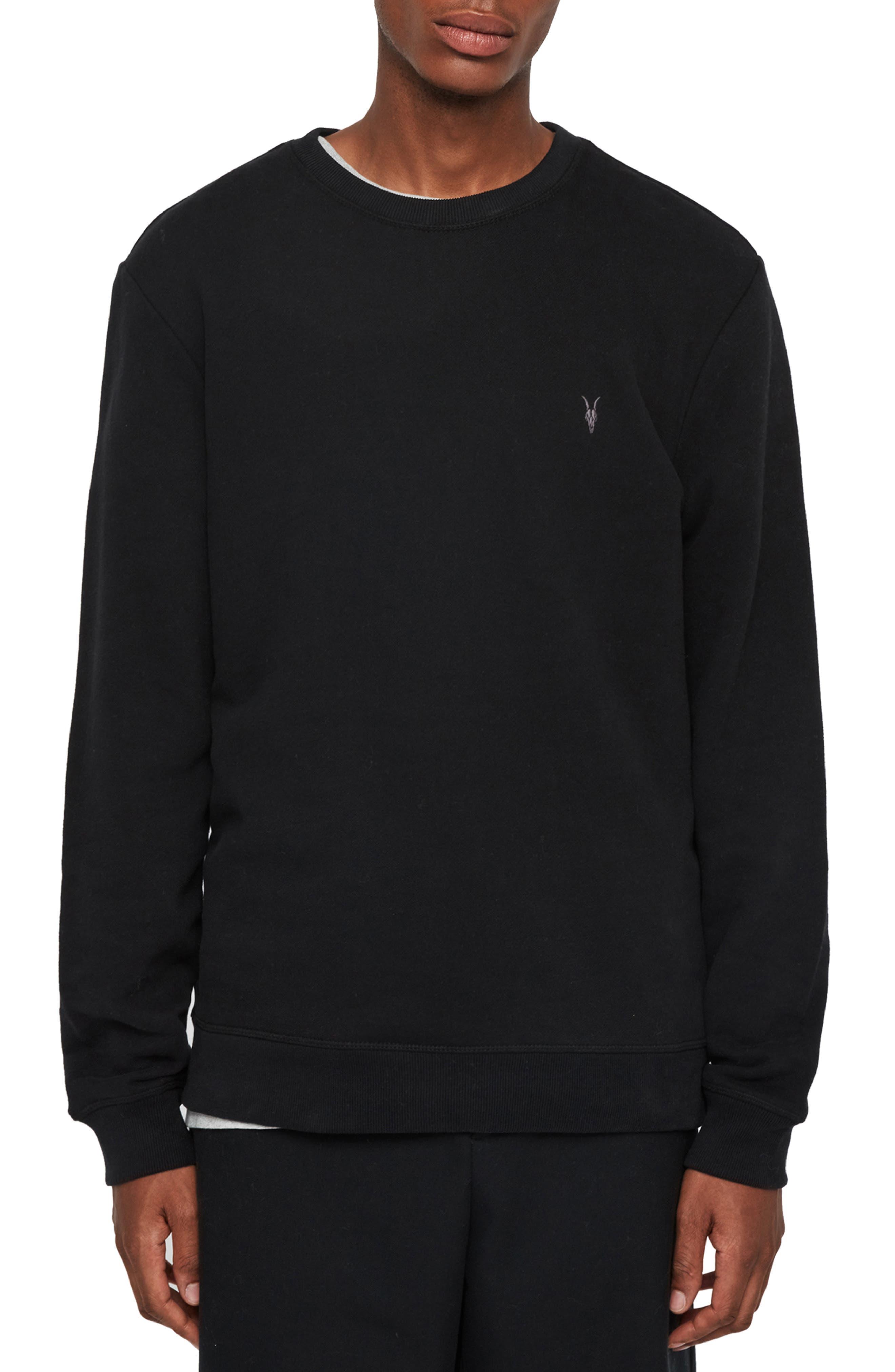 Raven Slim Fit Crewneck Sweatshirt