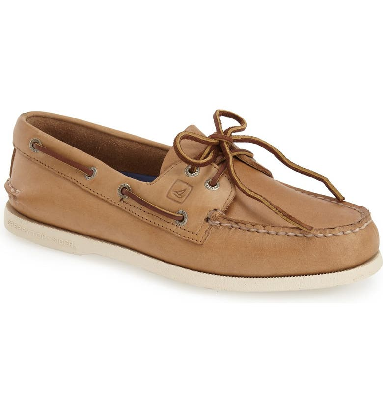 SPERRY 'Authentic Original' Boat Shoe, Main, color, Oatmeal