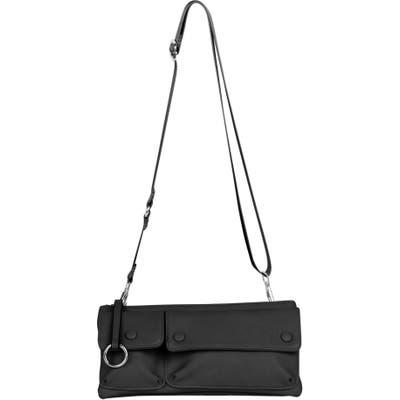 Urban Originals Art Of Happiness Vegan Leather Crossbody Bag - Black