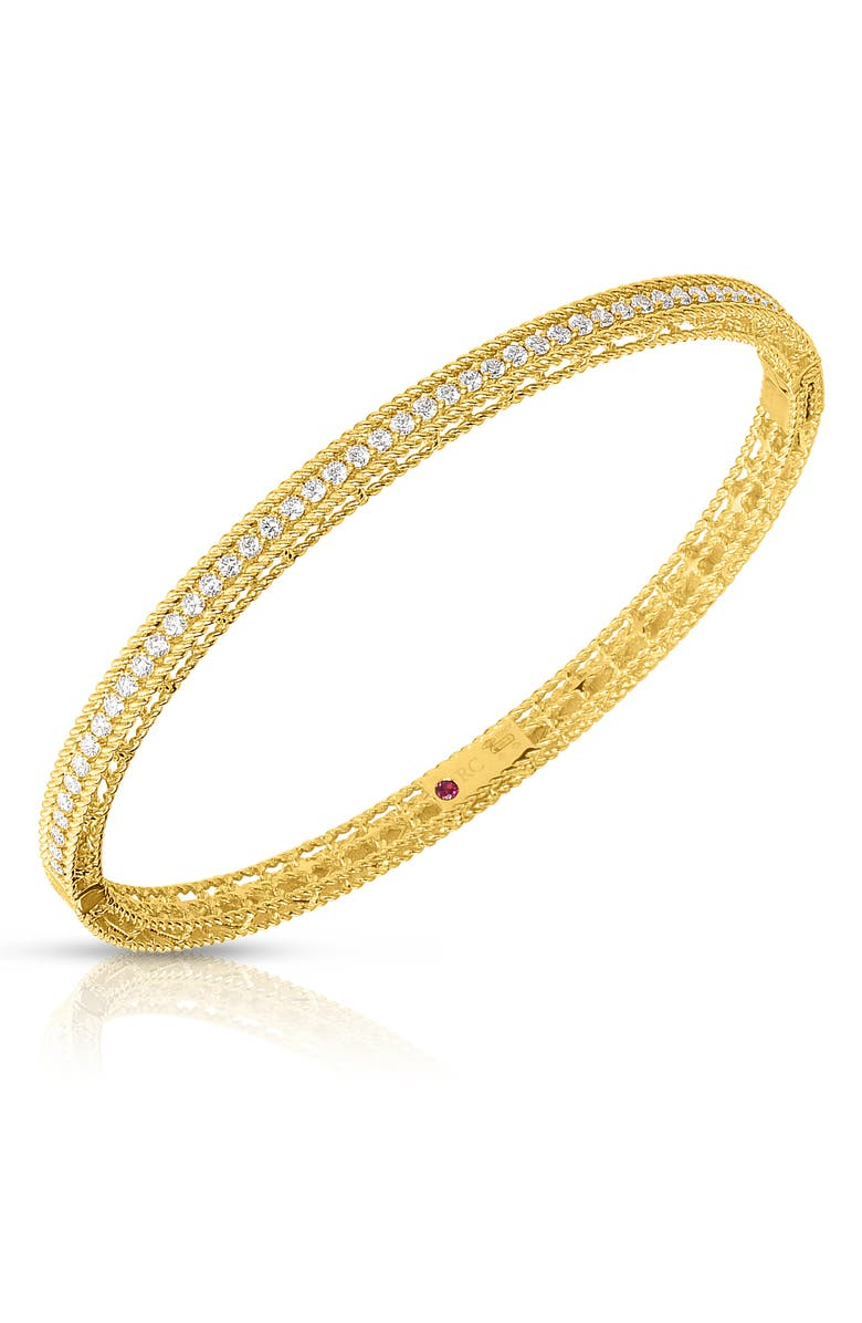Roberto Coin Symphony Diamond Bangle Bracelet