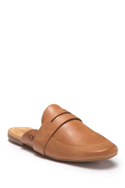 Image of Born Cayo Leather Penny Loafer Mule