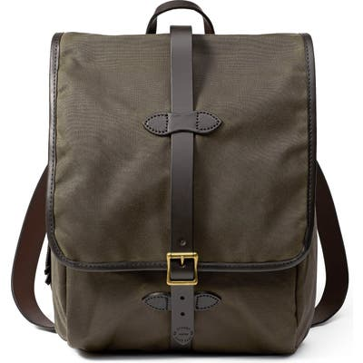 Filson Tin Cloth Backpack - Green