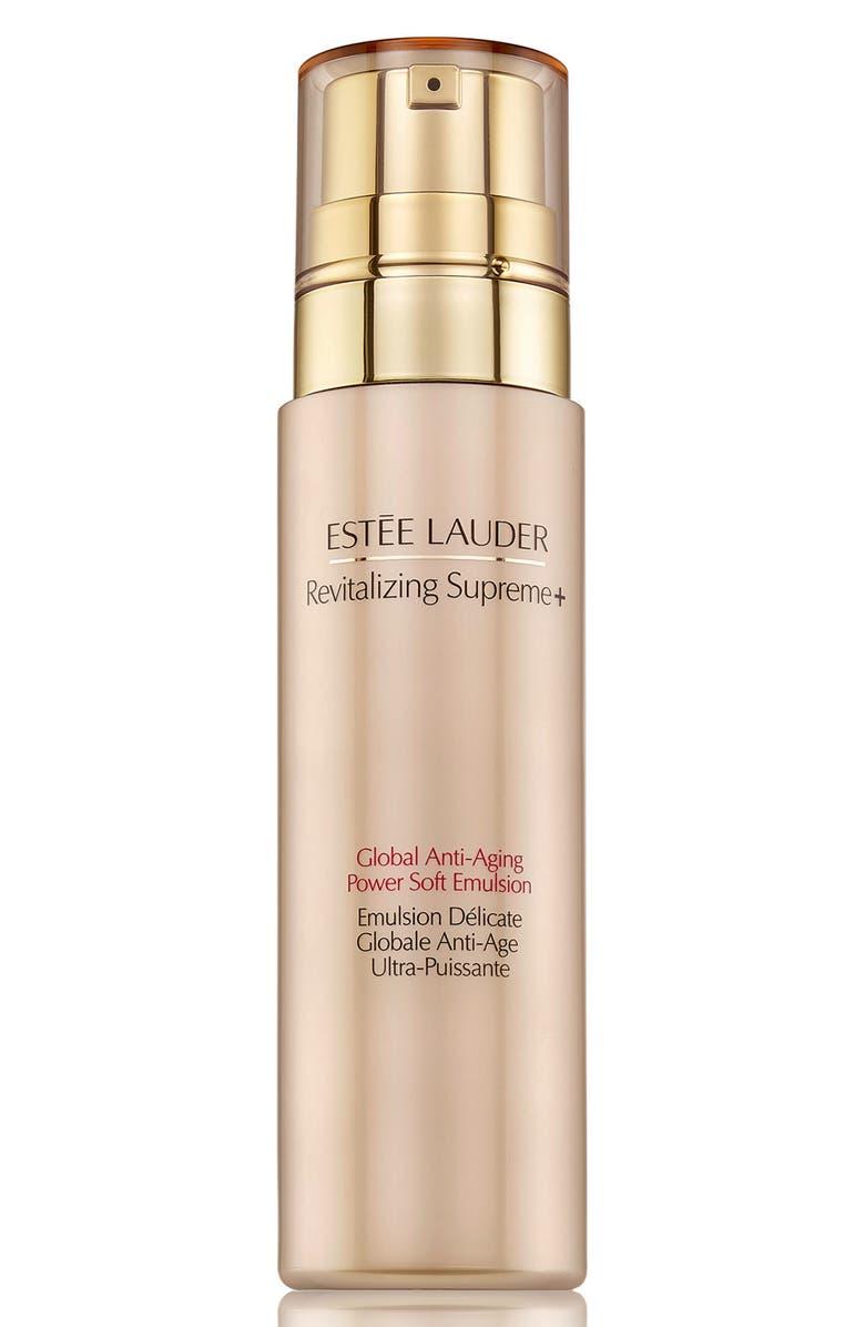 ESTÉE LAUDER Revitalizing Supreme+ Global Anti-Aging Power Soft Emulsion, Main, color, NO COLOR
