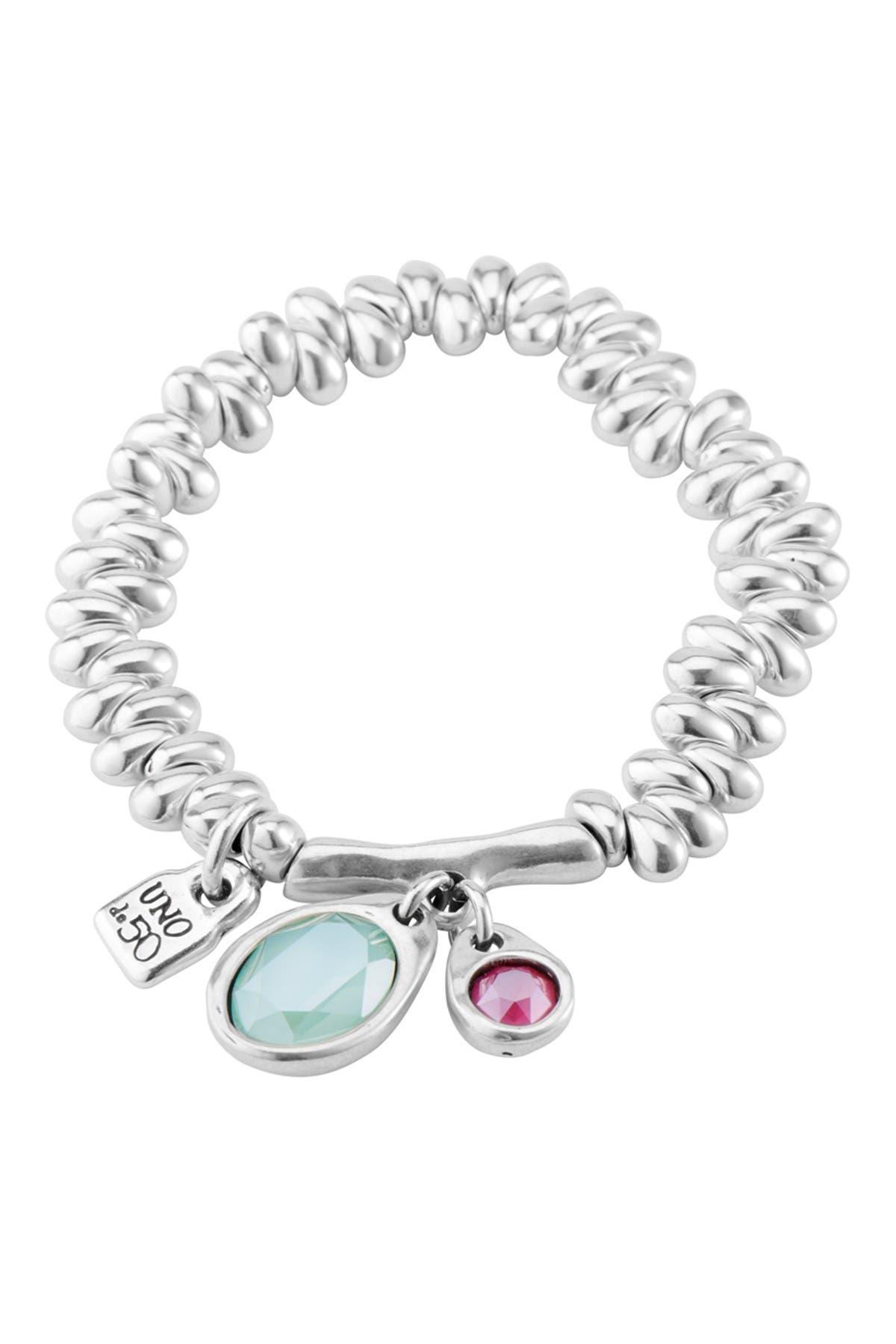 Image of Uno De 50 Eclipse Silver Plated Bracelet
